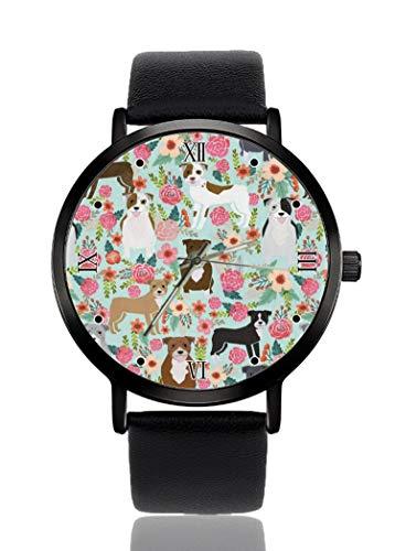 PALFREY - Reloj de pulsera circular de Navidad, para negocios, casual, deportivo, de cuarzo, para mujeres, hombres, impermeable, unisex,