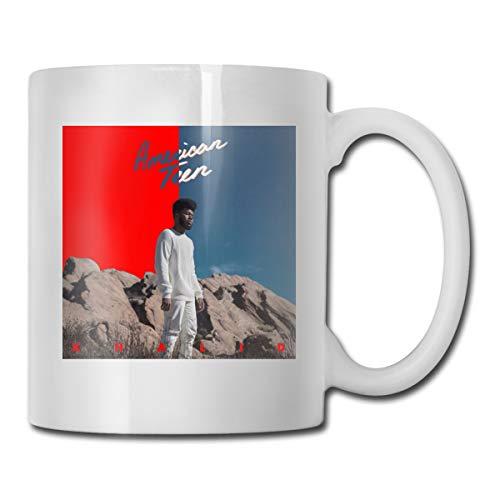 Shenhui Khalid American Teen beker - Have A Coffee | Koffiebeker | Cadeaumok - keramiek 9 Cm / 330 ml