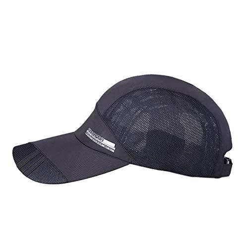 Gbksmm Unisex Summer Outdoor Sporthut Laufen Visierkappe Beliebte Baseball Sport Caps Outdoor Verstellbarer Hut-Yz0011B_Einheitsgröße