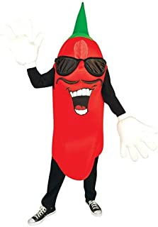 Waver Costumes Adult Chili Pepper Mascot Costume