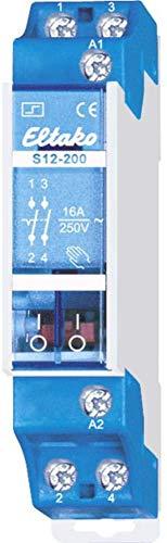 Eltako ELTA Stromstossschalter S12-200-24V, 250 V, Blau