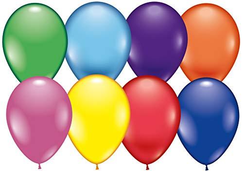 Nero//Rosso//Giallo Karaloon G090-00 Set di 99 palloncini