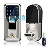 Best Fingerprint Door Knobs - iMagic Electronic Fingerprint Deadbolt, Keypad Entry Door Lock Review
