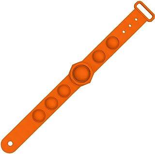 PiniceCore Wearable Spinta Bubble Decompressione Sensoriale Fidget Giocattoli di Decompressione Puzzle Wristband