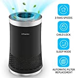 UNbeaten air purifiers for Home, Ozone Free, Removes 99.97% Dust - 47 ft³/min, Air Cleaner with True Hepa Filter for Allergen Reducing Traps Smoke Dust Mold Pets Dander