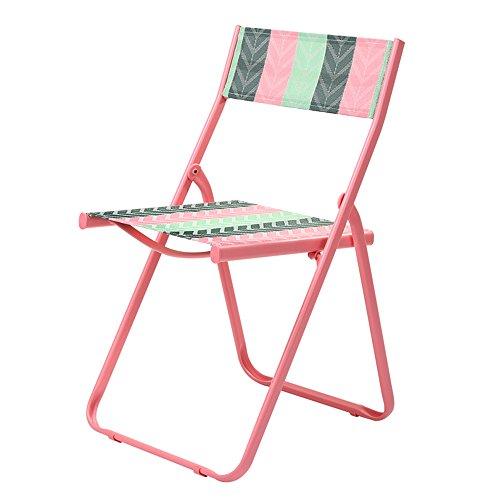 ch-AIR Stool Chaise Pliante portative extérieure Adulte de Balcon de ménage (Couleur : 7)