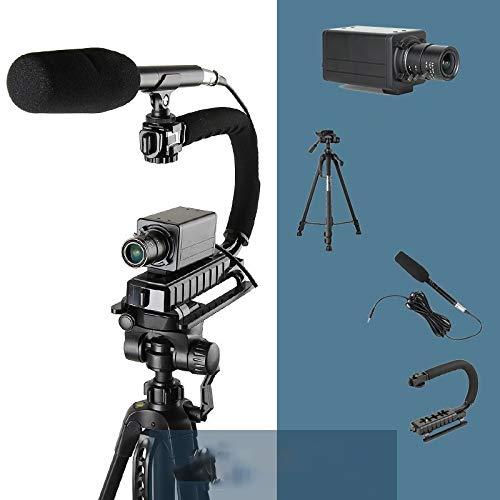 Hendyijb Cámara de alta definición PC, equipo de grabación de vídeo, más que en conferencia cámara, USB 1080P zoom de las cámaras de alta definición oficina clases de...