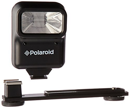 Polaroid Studio Series Pro Slave Flash Includes Mounting Bracket