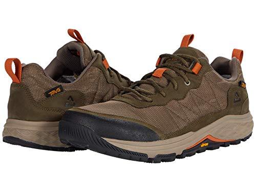 TEVA M Ridgeview Low, Zapatillas de Senderismo Hombre, Dark Olive, 45.5 EU