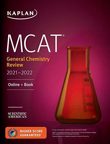 MCAT General Chemistry Review 2021-2022: Online + Book (Kaplan Test Prep)