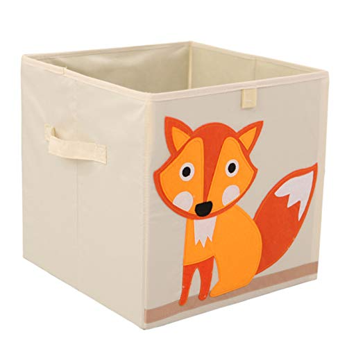 Murtoo Toy Bin Foldable Storage Cube Box Eco Friendly Fabric Toy...