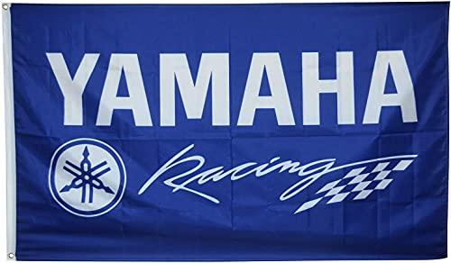 'N/A' SBLB Yamaha Racing Flag - Bandera de motocicleta para moto GP (3 x 5 pies)