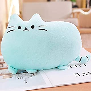 TREGIA 25Cm Cute Plush Cat Toys Soft Pillow Stuffed Animal Cat Cushion Plush Cat with Kitten Doll Kids Birthday Gift Toys New Must Haves Gift Ideas Girls Favourite Characters Superhero Dream