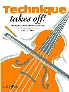 TECHNIQUE TAKES OFF - gearrangeerd voor viool [Noten / Sheetmusic] Component: COHEN MARY