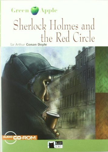 SHERLOCK HOLMES AND THE RED CIRCLE (FREE AUDIO) (Black Cat. Green Apple)