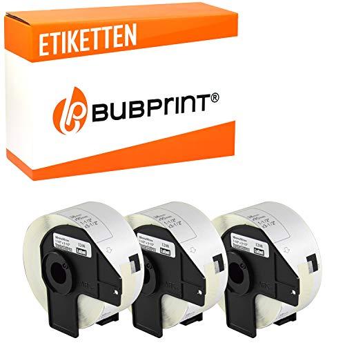 Bubprint 3 Etiketten kompatibel für Brother DK-11208 DK 11208 für P-Touch QL1050 QL1060N QL500BW QL550 QL560 QL570 QL580N QL700 QL710W QL720NW QL810W