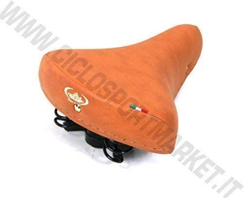 Montegrappa Sattel Federn ideal für Fahrrad Graziella - Old-Time -R- Holland - vintage Mann - Damen - Honig