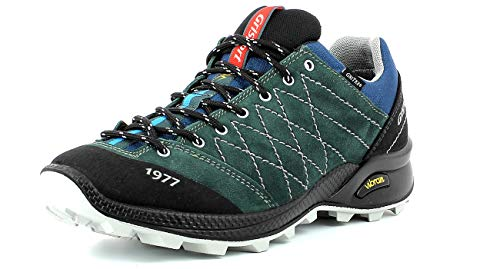 Grisport Terrain Low Men Herren Trekkingschuh,Approach,Urban Outdoor,Wildleder-Gritex-Membran Konstruktion,Green,43 EU / 9UK
