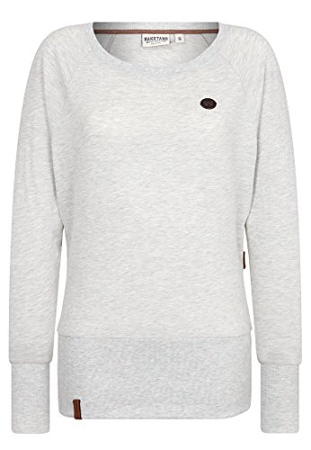 Naketano Female Sweatshirt Groupie, Stone Grey Melange, XS