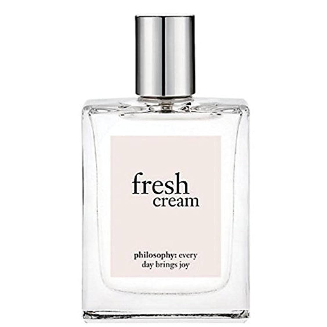 耳狂ったリングバックphilosophy (フィロソフィー) Fresh Creamフレッシュクリーム オードトワレスプレー, 60ml for Women [海外直送品] [並行輸入品]