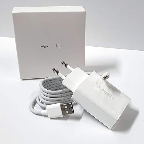 Meizu UP1220E - Enchufe Cargador con Cable - Adaptador de Red Micro...