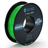 SainSmart Neon Color TPU, 1.75mm Flexible TPU 3D Printer Filament 800g, Dimensional Accuracy +/- 0.05 mm, Neon Green