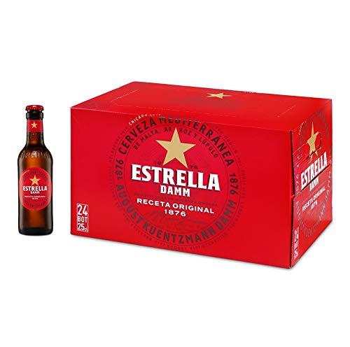 Estrella Damm Cerveza, Caja de 24 x 25cl