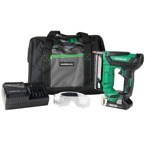 Metabo HPT NP18DSAL 18V Cordless Pin Nailer Kit, 5/8-Inch up to 1-3/8-Inch Pin Nails, 23-Gauge, 3,000 Nails Per Charge, Compact 3.0 Ah Lithium Ion Battery (Renewed)