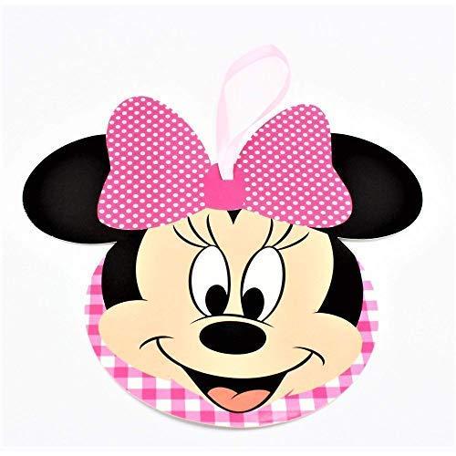 Scotton 20 Pcs Minnie Disney Fête Carte Invitation ou Décoration 12 CM