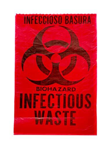 Biohazard Waste Disposal Bag (10 Gal) 24