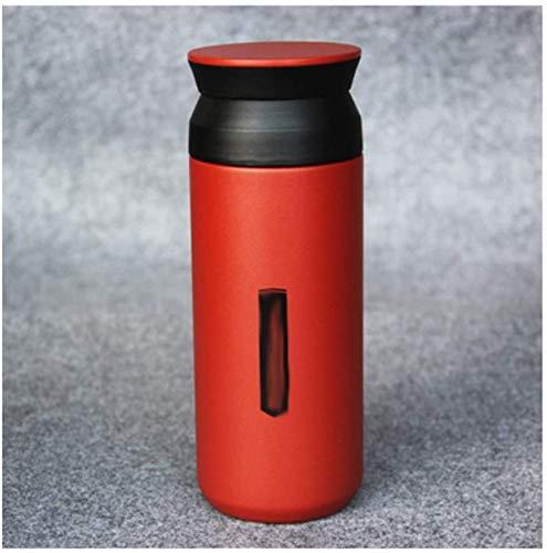 CongMing-huajia Vaso Termico Termo Llevar Hervidor para Bebidas frías y Calientes Taza Termo Taza de Viaje
