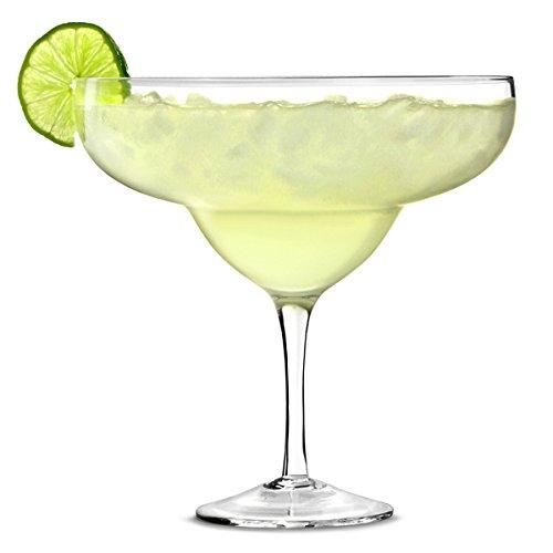 Giant Margarita de cristal 1.3ltr - Giant precauciónde de cóctel de cristal para decoración de bebidas y centros