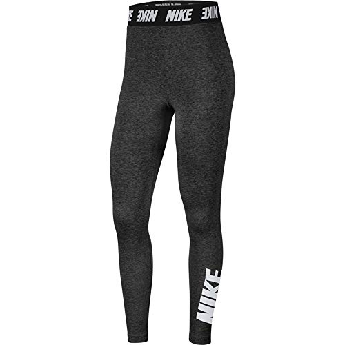 Nike Womens Sportswear Club Leggings, Black/White, S