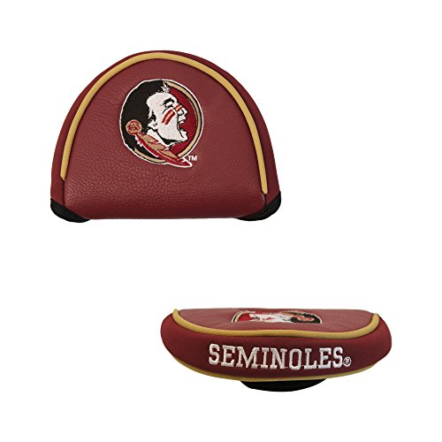Team Golf NCAA Golf Club Mallet Putter Headcover, Fits Most Mallet Putters, Scotty Cameron, Daddy Long Legs, Taylormade, Odyssey, Titleist, Ping, Callaway, Florida State Seminoles