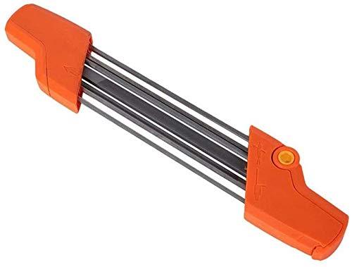 Sägekettenschärfgerät,Feilenhalter Für Kettensäge,Sägezahn Und Tiefenbegrenzer In Einem Arbeitsgang Bearbeiten