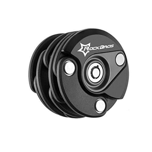 Mdzz Fiets Lock, Ketting Vouwslot, Burger Lock, Elektrische Fiets Mountainbike Anti-diefstal Lock Accessoires Rijuitrusting