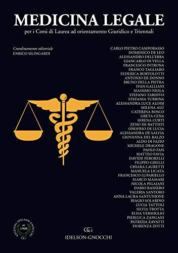 Medicina legale per i corsi di laurea a orientamento giuridico e triennali