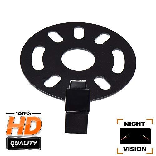 Caméra de Recul Voiture en Couleur Kit Caméra Vue arrière de Voiture Imperméable IP67 avec Large Vision Nocturne pour Jeep Wrangler JKU/Jeep JK/JKU/Unlimited JK Rubicon/Sahara/Unlimited Sahara 07-17