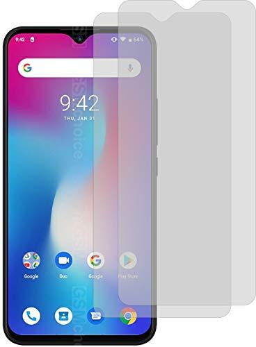 4ProTec I 2X Crystal Clear klar Schutzfolie für Umidigi Power Bildschirmschutzfolie Displayschutzfolie Schutzhülle Bildschirmschutz Bildschirmfolie Folie