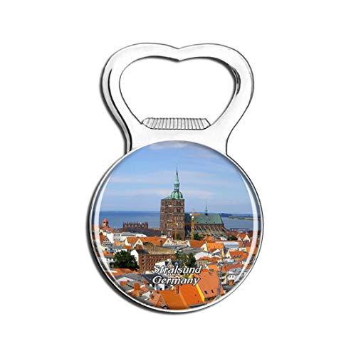 Weekino Stralsund Deutschland Bier Flaschenöffner Kühlschrank Magnet Metall Souvenir Reise Gift