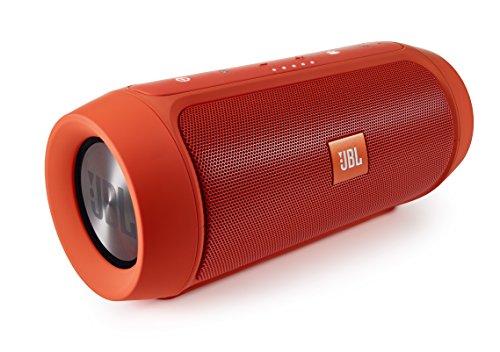 JBL Charge 2+ Splashproof Portable Bluetooth Speaker (Orange)