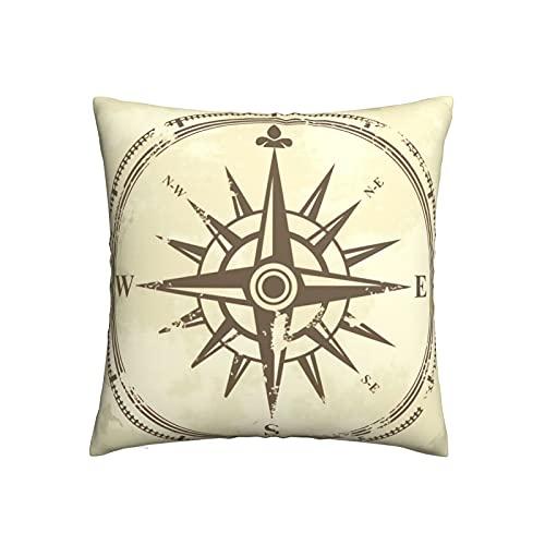 Mengmeng Fundas de almohada decorativas de 50,5 x 50,8 cm, fundas de almohada cuadradas para el hogar, sofá, dormitorio, sala de estar
