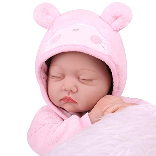 Kaydora Sleeping Reborn Baby Dolls, 22inch Reborn Baby Girl, Cute Lifelike Realistc Reborn Baby Doll That Look Real for Girl Age 3+