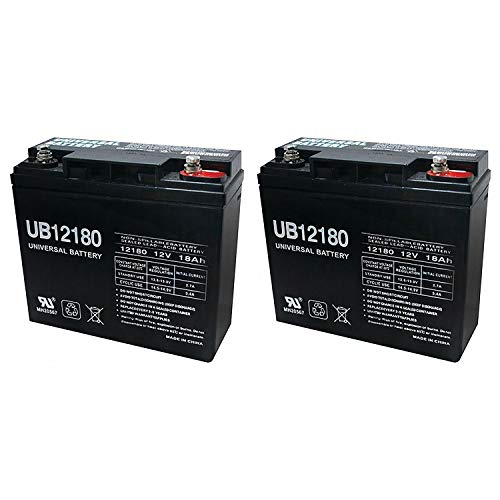 Universal Power Group UB12180 12V 18AH Internal Thread Replaces Baoshi 6-DZM-20 6DZM20-2 Pack