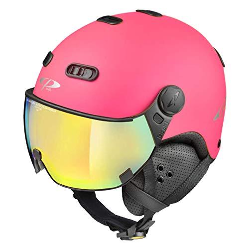CP Carachillo Visierhelm pink mc Mirror Skihelm Ski NEU Snowboardhelm 53 cm - 55 cm 2020