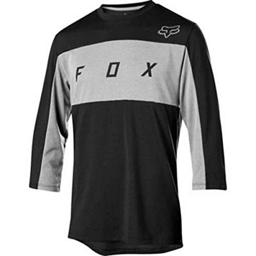 Fox Racing Ranger Dri-Release 3/4-Sleeve Jersey - Men's Black, S