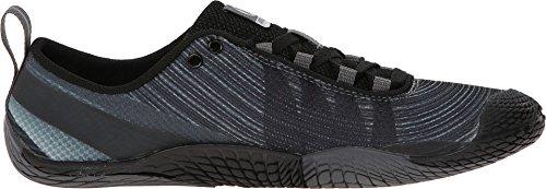 Merrell Women's Vapor Glove 2 Trail Running Shoe, Black/Castle Rock, 8 M US