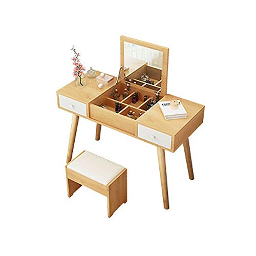 Best Review Of Vanity Set for Women Dressing Table Bedroom Dressing Table Mini Dressing Table Bedroo...