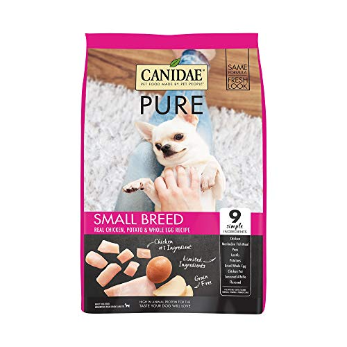 CANIDAE PURE Small Breed Real Chicken, Limited Ingredient, Grain Free...