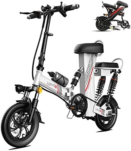 ZMHVOL Ebikes, elektrisches Fahrrad 12'Rad abnehmbar 48 V 350W 30Ah wasserdicht und staubdichter...